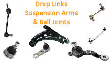 ADJUSTABLE-DROP LINKS / SUSPENSION ARMS & BALL JOINTS