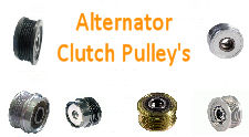 ALTERNATOR CLUTCH PULLEYS