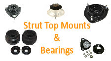 STRUT TOP MOUNTS & BEARINGS