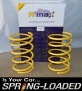 A-MAX Lowering Springs for Citroen Saxo 1996 - 2003 -35mm Excluding VTR/VTS