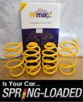 A-MAX Lowering Springs for BMW 3 E46 318-330 &320D excl. iX & Cabrio 98-05 -35mm