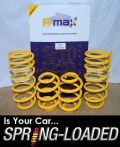 A-MAX Lowering Springs for Audi TT I Quattro 1.8T Coupe & Roadster 99-2006 -40mm