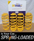 A-MAX Lowering Springs for Audi A3 II 2.0 FSI DSG/1.9/2.0TDI 2003-2012 -30mm