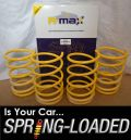 A-MAX Lowering Springs for Subaru Impreza 2.0T Classic 1992-2000 -35mm