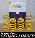 A-MAX Lowering Springs for Audi A4 II Saloon 1.8T/2.0T/3.0 & TDi excl. Quattro
