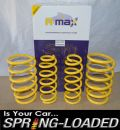 A-MAX Lowering Springs for Toyota Celica 1.8 VVti ZZT230/231 1999-Onwards