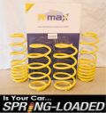 A-MAX Lowering Springs for Ford Fiesta Mk6 ST150 2002-2008 JD, -25mm