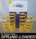 A-MAX Lowering Springs for Ford Fiesta 1.2/1.4/1.6/1.4d/1.6d 2009-On -35mm