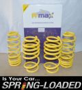 A-MAX Lowering Springs for Seat Leon 2.0 FSI & All TDI Models 2005-2011 -35mm