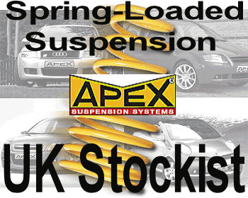 Apex Spring Kit VW Jetta Mk 2 1983 to 1991 -60mm