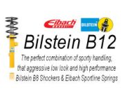 Bilstein B12 Kit - Eibach Sportline 46-000750 - BMW 3 Series Coupe E36