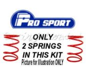 ProSport Spring Kit - Peugeot 309 1.1 / 1.3 / 1.4 / 1.6 / 1.9 except GTI / Diesel 09/1985 on
