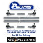 ProSport 3 Piece Adjustable Droplink Kit  - Suspension Links - 3 Sizes